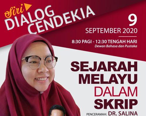 Siri Dialog Cendekia: Sejarah Melayu dalam Skrip